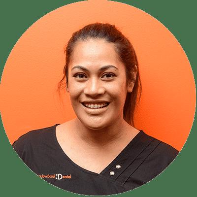 Dental Hygienist Lorraine Robertson