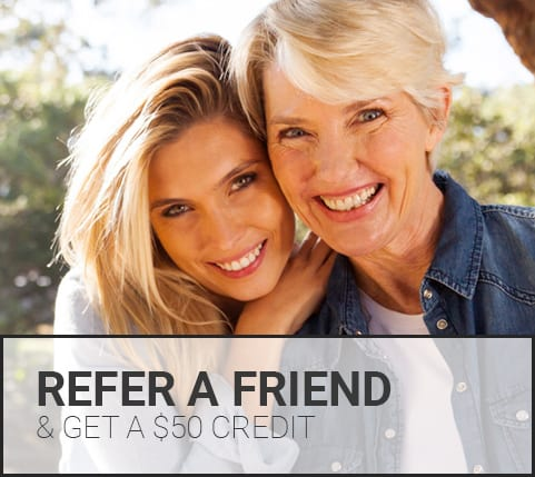 Refer a friend to the dentist